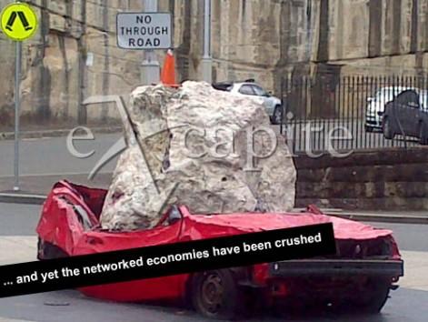 3. crushed economies